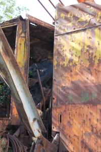 Steampunk crane operator