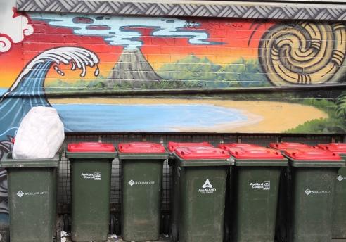 Newmarket NZ graffiti