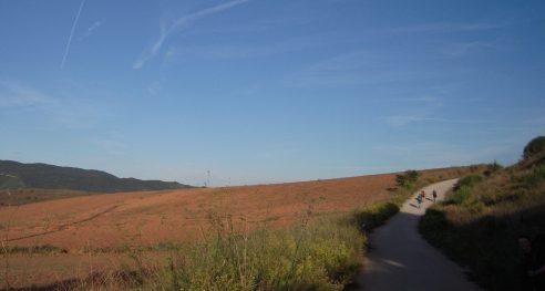 Camino Frances (Navarra, Spain)
