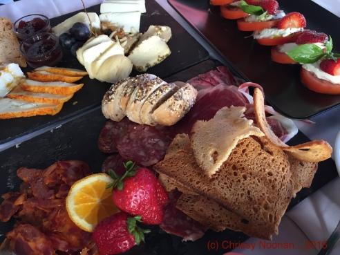 Cafe No Chiado - Prato charcutaria & de queijos