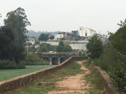Camino Portuguese - rua da Ponte Romana